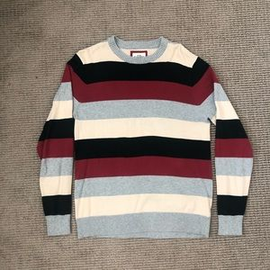 Old Navy Striped Crewneck Sweater